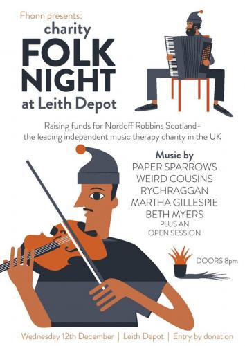 Folk Night @ Leith Depot 12 Dec
